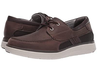 Clarks Un Abode Step (Brown Leather) Men