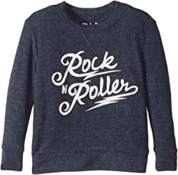 Extra Soft Love Knit Rock-N-Roller Pullover (Toddler/Little Kids)
