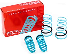 Godspeed LS-TS-SN-0002 Traction-S Performance Lowering Springs, Reduce Body Roll, Improved Handling, Set of 4