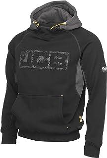 JCB Horton huvtröja för män, XL, Svart/grå, 1