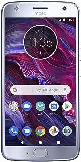 """Motorola Moto X4 Factory Unlocked Phone - 5.2"""" Screen - 32GB - Sterling Blue (U.S. Warranty)"""