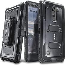 COVRWARE® LG G Stylo 2 (2016) /LG G Stylo 2 Plus/LG Stylo 2 V - [Aegis Series] with Built-in [Screen Protector] Heavy Duty Full-Body Rugged Holster Armor Case [Belt Swivel Clip][Kickstand] - Black