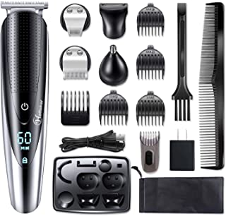Hatteker Mens Hair Clipper Beard Trimmer Grooming kit Hair trimmer Mustache trimmer Body..