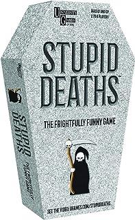 University Games Stupid Deaths Tin Dice Game (01406)