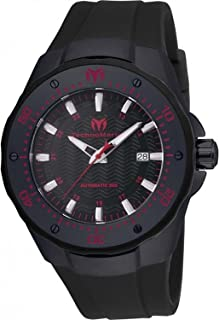 Technomarine Men's 'Manta' Automatic Stainless Steel and Silicone Casual Watch