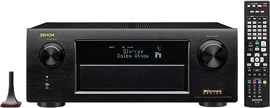 Denon AVRX6200W 9.2 Channel Full 4K Ultra HD AV Receiver with Bluetooth and Wi-Fi