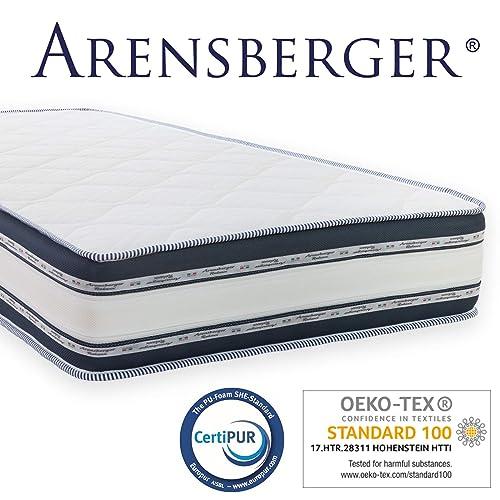 Arensberger Relaxx 9 Zonen Wellness Matratze Mit 3D Memory Foam Hohe 25cm Raumgewicht