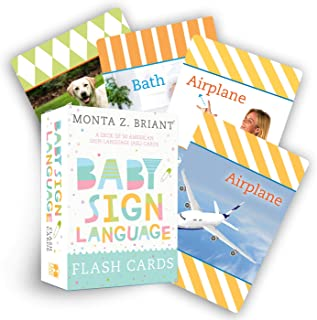 Baby Sign Language Flash Cards: A Deck of 50 American Sign Language (ASL) Cards