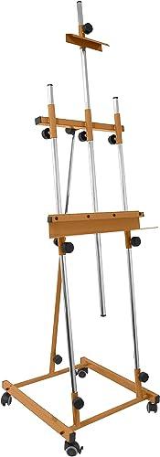 Hay más marcas de productos de alta calidad. Sonpó Online - Modelo Goya Goya Goya marrón - Caballete de Pintura Profesional para Pintar Cuadros - Estructura de Acero de Alta Resistencia con Acabados en Color marrón  ahorra hasta un 50%