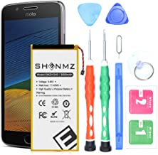 Moto G5 Plus (5th Generation) Battery,SHENMZ 3000mAh Internal Li-ion Polymer Battery Replacement for HG40 XT1677 XT1681 XT1683 XT1684 XT1685 with Tools |Moto G5 Plus Battery Replacement Kit