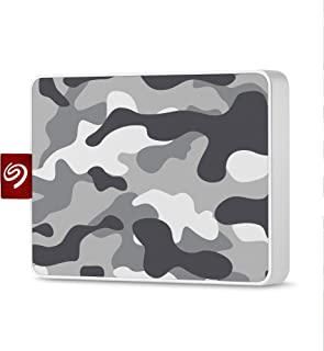 Seagate One Touch SSD 500GB External Solid State Drive Portable – Camo Gray/White,USB 3.0 for PC Laptop and Mac, 1yr Mylio...