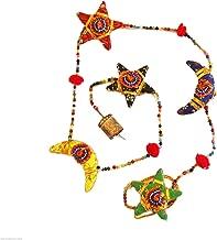 Mango Gifts Handmade Star N Moon Indian Door Hanging Mobile String Decoration 120cm