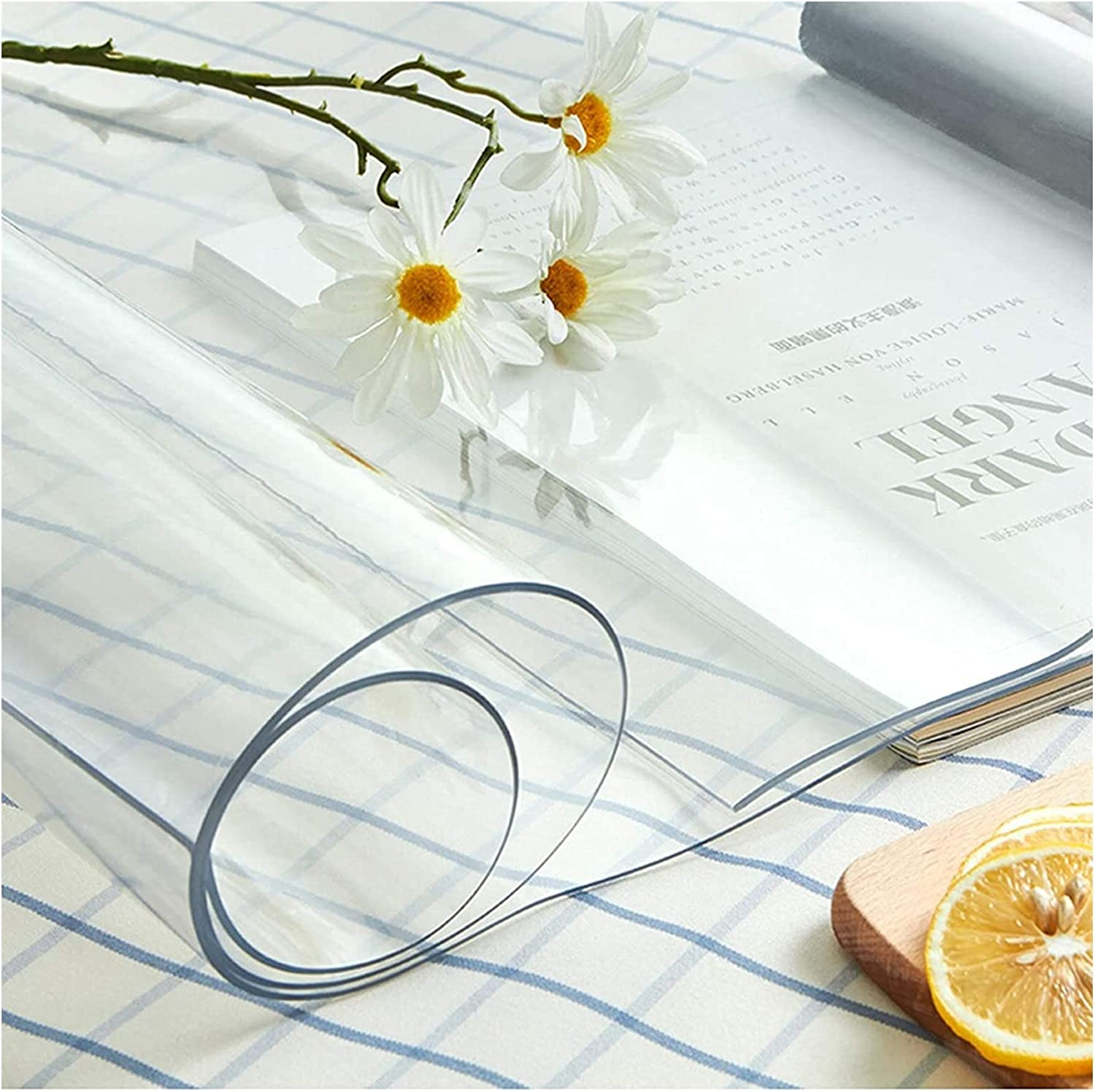 AWSAD Clear Ranking TOP9 Tablecloth for Japan's largest assortment Kitchen Covers Table Bedroom A Sound