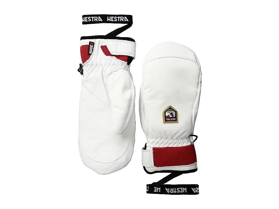 Hestra Moje Czone Mitt (Ivory) Ski Gloves