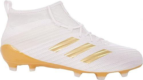 Adidas Prougeator Flare FG - Crampons de de Rugby - Blanc Or Métallisé  le dernier