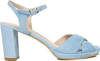 a35428ff Zapatos miMaO. Zapatos Piel Mujer Hechos EN ESPAÑA. Sandalias Tacón Mujer.  Sandalias Verano