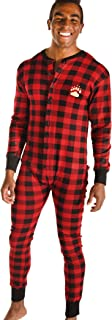 LazyOne Flapjack, One-Piece Pajamas with Drop Seat, Matching Christmas Pajamas
