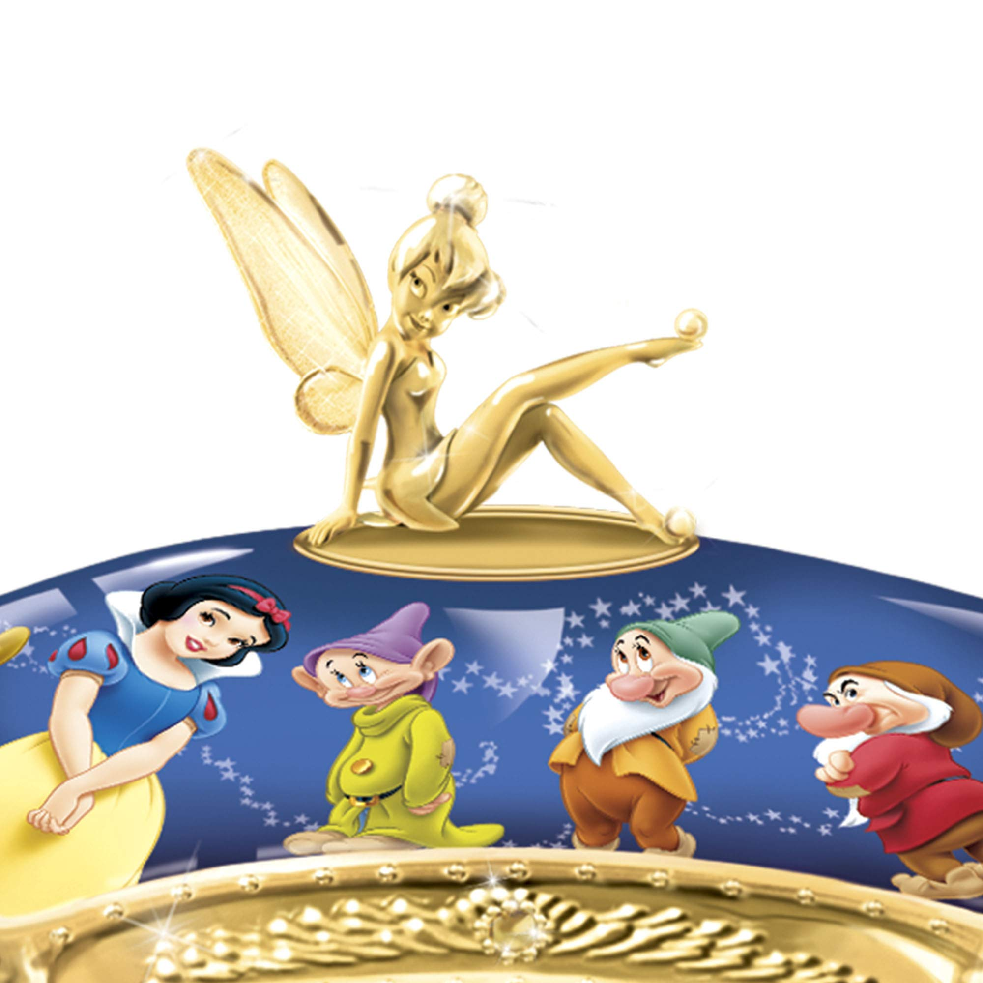 The Bradford Exchange Ultimate Disney Heirloom Porcelain® - Caja ...
