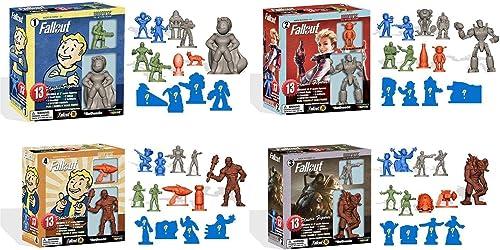 Fallout Nanoforce Series 1 Army Builder Figure Box Sets - Set of 4