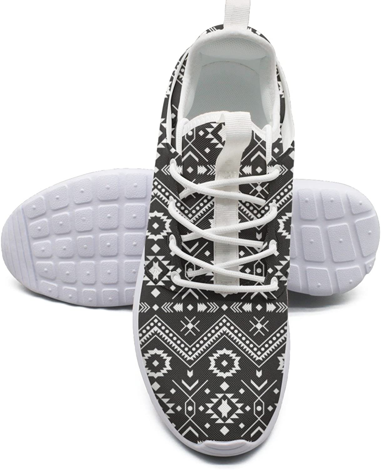 Cool Tribal Aztec Pattern Women's Unique Running shoes