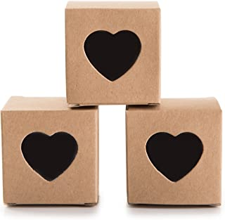 large heart candy box