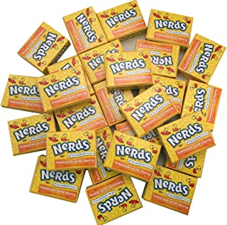Nerds Candy Wonka Fun Size Nerds Mini Boxes, Lemonade Wild Cherry Flavor by The Online Candy Shop
