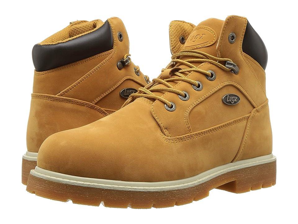 Lugz Mortar Mid Steel Toe Chukka Boot (Golden Wheat/Bark/Cream/Gum) Men