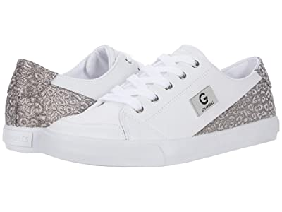 GBG Los Angeles Meric (White/Silver Glam Leopard) Women