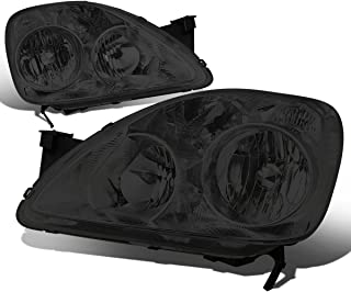 For Honda CRV FD1 FD2 8th Gen Pair of Smoked Lens Clear Corner Replacement Headlight Lamp