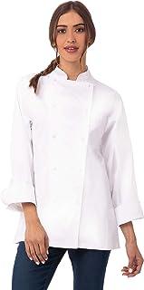 Chef Works Women's Elyse Premium Cotton Chef Coat