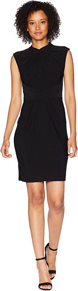 Matte Jersey Sheath Dress