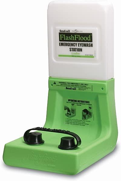 Fendall 山洪爆发二级紧急洗眼站用 1 加仑 3 8 升盐水墨盒
