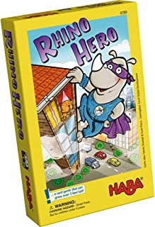 HABA Rhino Hero A Heroic Stacking Card Game for Ages 5 and Up – Triple Award Winner