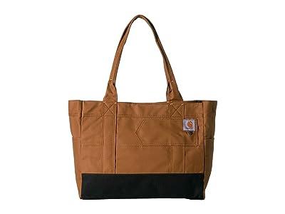 Carhartt East West Tote (Carhartt/Brown) Handbags