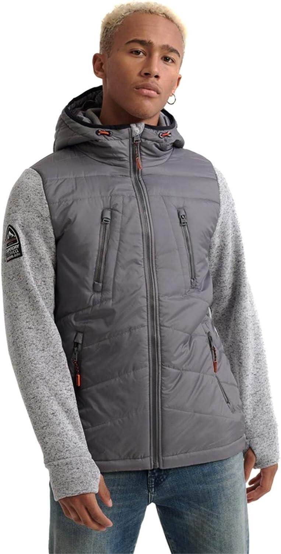Superdry Men's Storm Max 45% OFF Jacket Hybrid Selling Grey