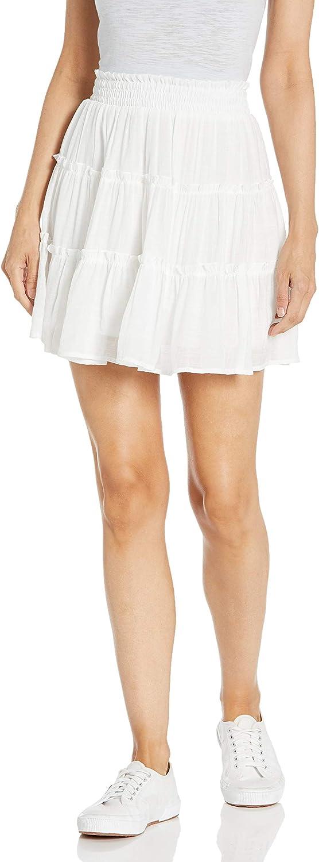 A. Byer Women's Short Tiered Skirt