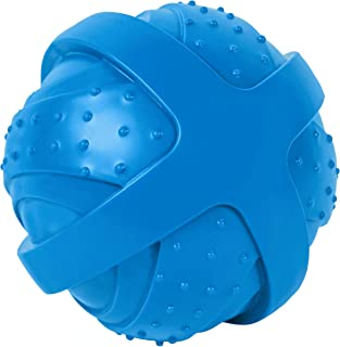 ST Pet 532501 Rowdy Roller Ball Dog Toy, Blue, 4.5