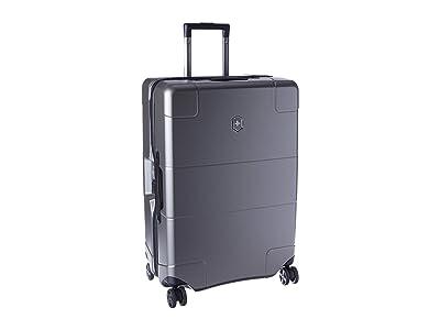 Victorinox Lexcion Hardside Medium Travel Case (Titanium) Luggage
