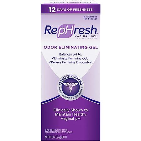 RepHresh Odor Eliminating Vaginal Gel, 4ct (0.07oz)