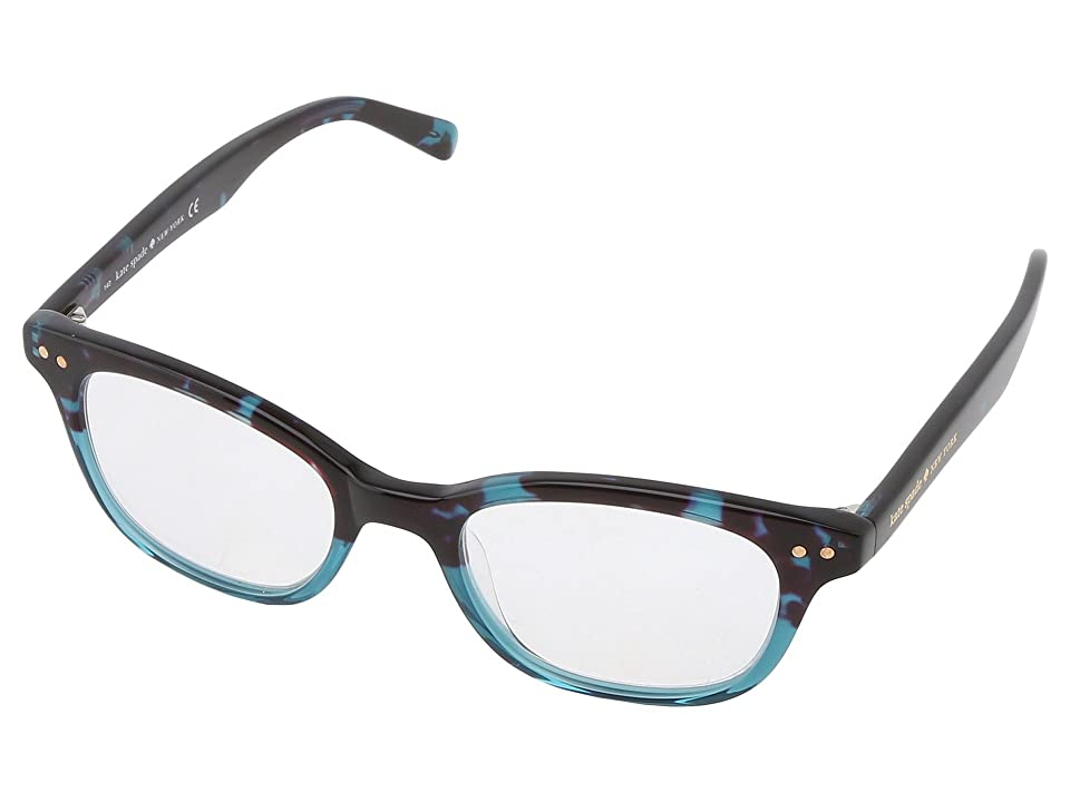 Kate Spade New York Rebecca (Sky Blue Tortoise) Reading Glasses Sunglasses