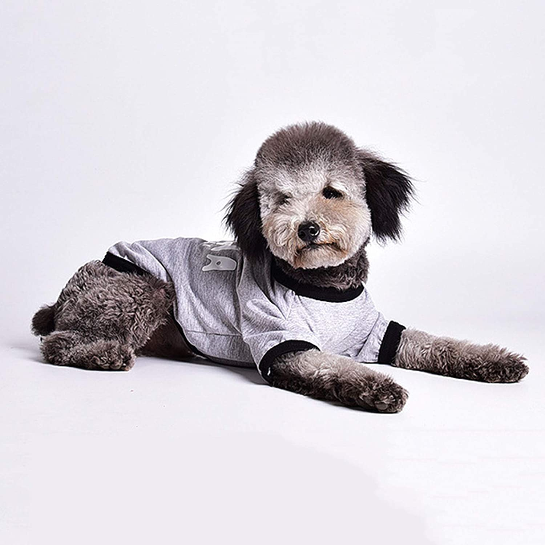 AchidistviQ Hundehemd Hundehemden Weiche Haustierweste Kleidung Atmungsaktive Haustierkleidung F/ür Kleine Mittelgro/ße Hunde Katzen Kleidung Sommer Haustierkleidung Weste T-Shirt Kleidung Blau 2XL