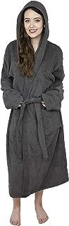 Women's 100% Terry Cotton Hooded Bathrobe Toweling Robe