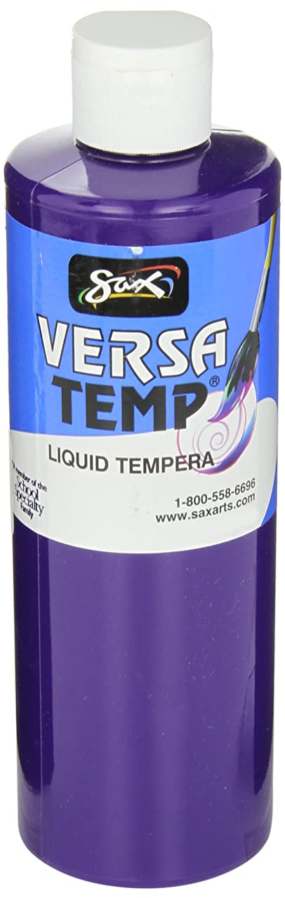 Sax Versatemp Heavy-Bodied Tempera Paint, Violet, 1 Pint