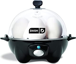 Dash Rapid Egg Cooker: 6 Egg Capacity Electric Egg Cooker for Hard Boiled Eggs, Poached Eggs, Scrambled Eggs, or Omelets w...