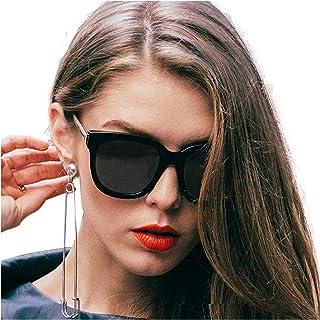 SIPHEW Lentes de Sol Espejadas para Mujer y Hombre, Gafas de Sol Polarizadas de Moda con 100% UVA&UVB Protección