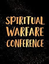 Spiritual Warfare Conference: Blank Lined Journal Notebook, 120 Pages, Soft Matte Cover, 8.5 x 11