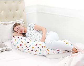 Rabitat Duo Motherhood Multi Function Pillow, Pregnancy Pillow+Feeding Pillow - Memphis