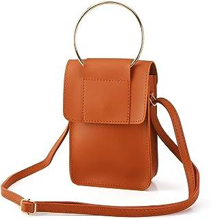 Laimi Duo Crossbody Bags for Women Small Handbag Cellphone Purse Wallet Ladies Shoulder Bag