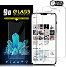 Oneplus 6 Screen Protector by YEYEBF, [2 Pack] Tempered Glass Screen Protector for Oneplus 6 [3D Touch][HD-Clear][Bubble-Free][Anti-Scratch]