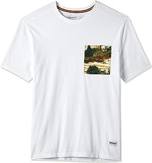 Timberland mens Field Trip Print Pocket Tee T-Shirt